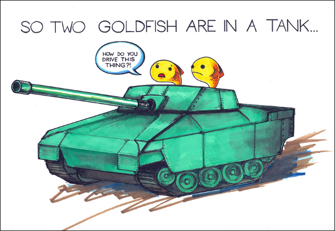 Simple Illustrated Puns That Never Stop Being Hilarious (14 pics)