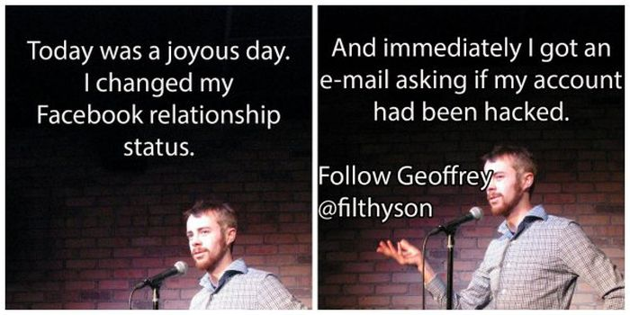 Hilarious Standup Jokes (13 pics)