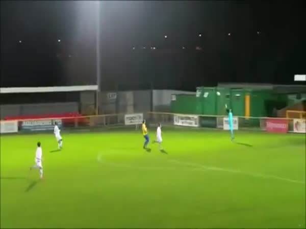 Player Scores Ridiculous Wind Assisted Own Goal From Near The Half Field Line