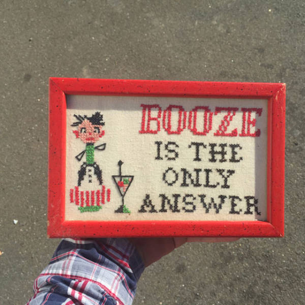 Cool Thrift Shop Items That Are A Little On The Strange Side (40 pics)