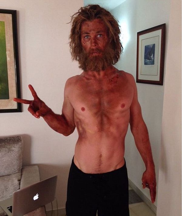 Chris Hemsworth Followed An Insane Starvation Diet For This Movie Role (2 pics)
