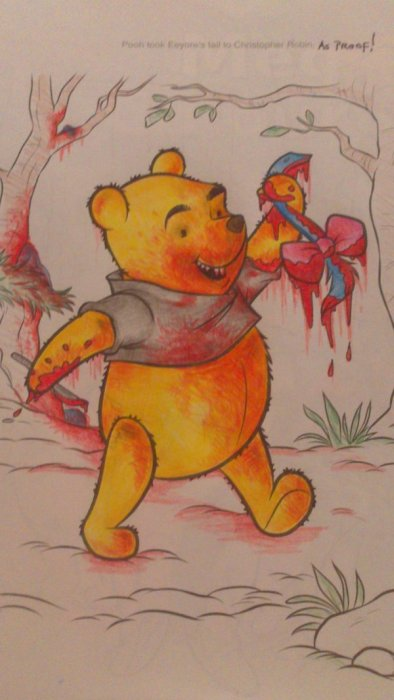 Cute Coloring Book Pictures That Will Destroy Your Childhood (34 pics)