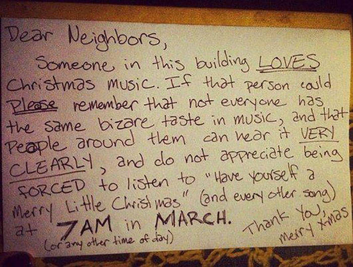 Getting Stuck Next To The Wrong Neighbors Can Be A Disaster (25 pics)