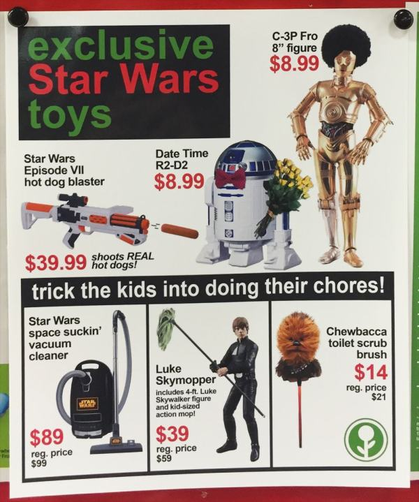 Man Adds Hilarious Fake Black Friday Deals To His Local Target (6 pics)