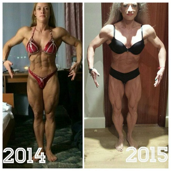 In Only One Year This Female Bodybuilder Has Made A Shocking Transformation (6 pics)