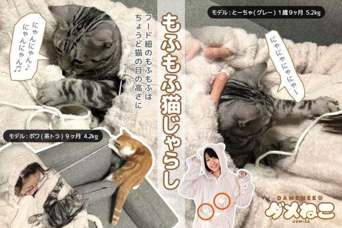 Your Cat Can Ride Along When You Wear This Sweater (9 pics)