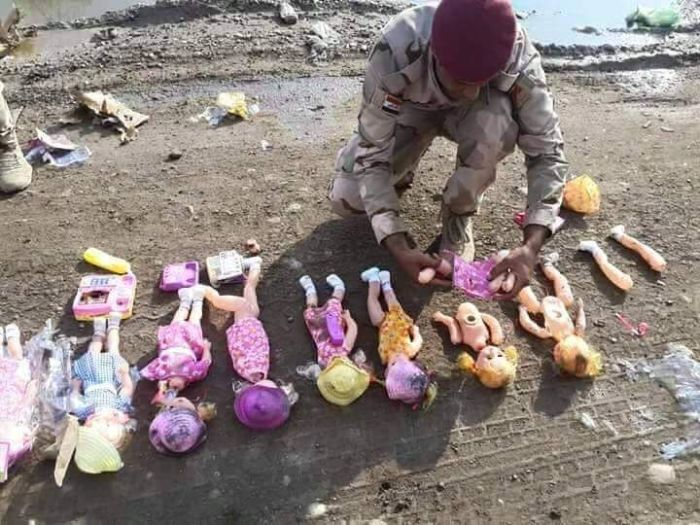 ISIS Is Hiding Explosives Inside Of Dolls (4 pics)