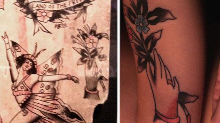 Woman Gets 100 Years Worth Of History Tattooed On Her Body (14 pics)