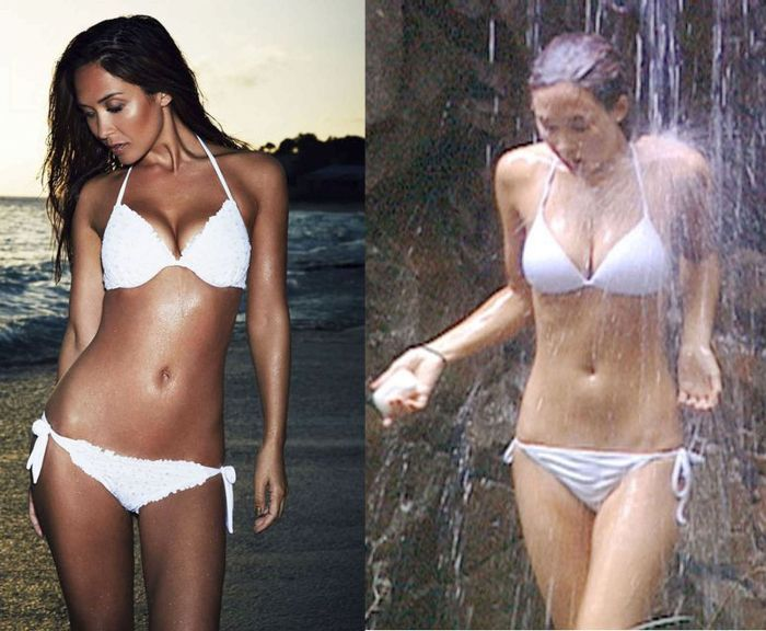 See How Celebrities Are Airbrushed To Make Them Look Perfect (4 pics)