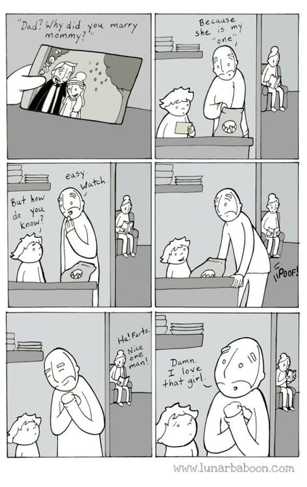 Comics From Lunarbaboon That Perfectly Sum Up The Parenthood Experience (16 pics)