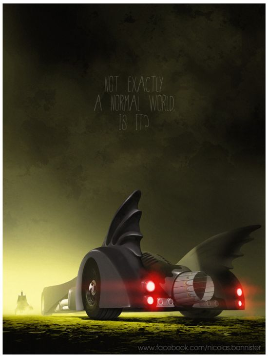 Artist Pays Tribute To The Most Iconic Cars From Pop Culture (24 pics)
