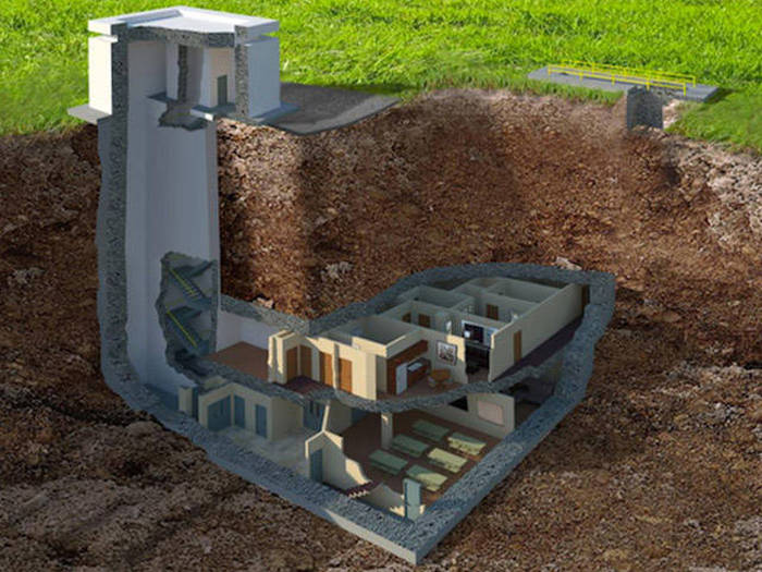 You Won't Believe How Awesome This Underground Bunker Is (9 pics)