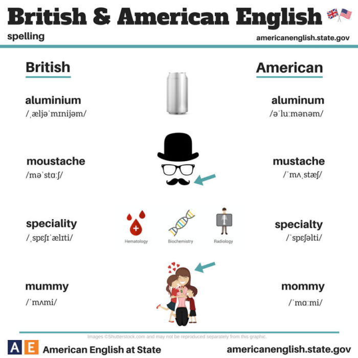 100 Of The Biggest Differences Between British And American English (24 pics)