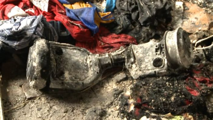 This Hoverboard Destroyed A Family Home After It Exploded (5 pics + video)