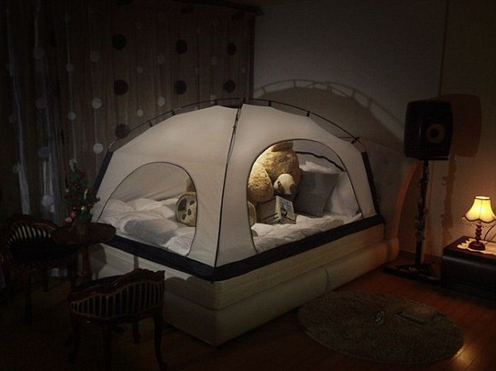 Putting A Tent Over Your Bed Could Keep You Warm At Night