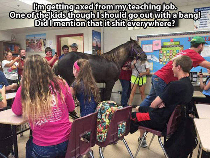 Moments That Make School Awesome And Awkward (32 pics)