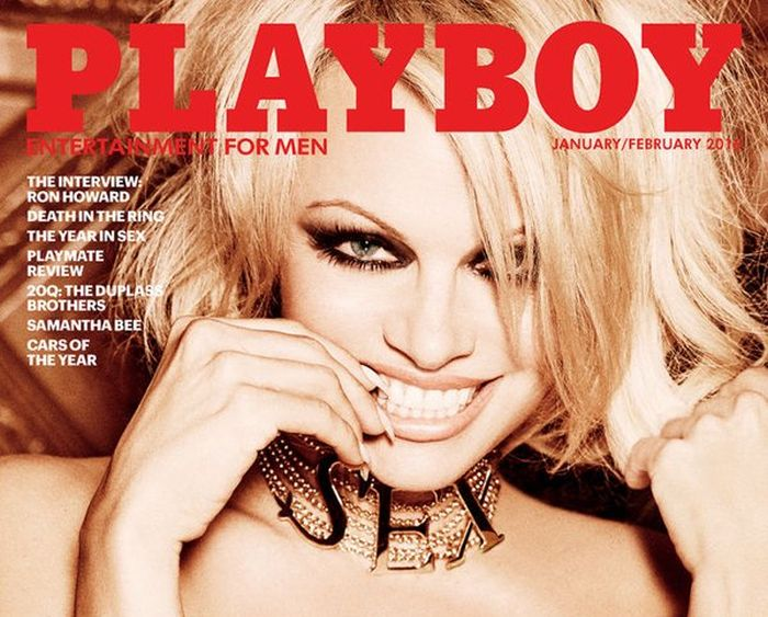 Pamela Anderson Poses for the Final Nude Issue of Playboy (7 pics)