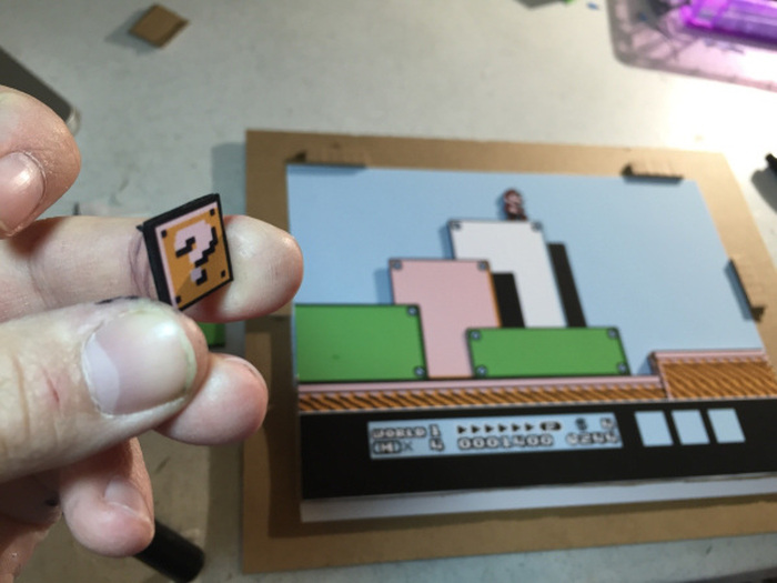 Artist Brings Video Game Levels To Life With 3D Artwork (18 pics)