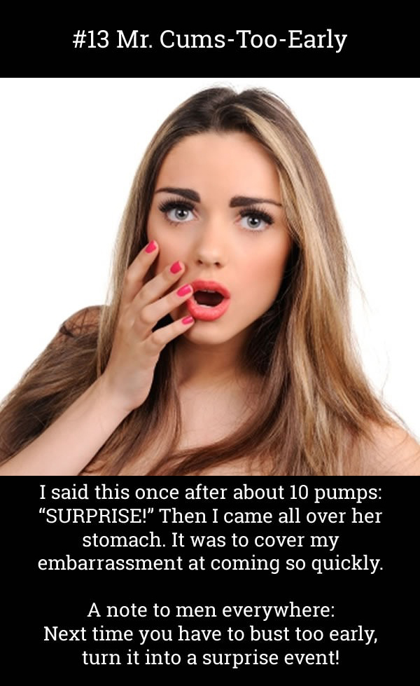 These Are The 13 Worst Things People Have Said During Sex (13 pics)