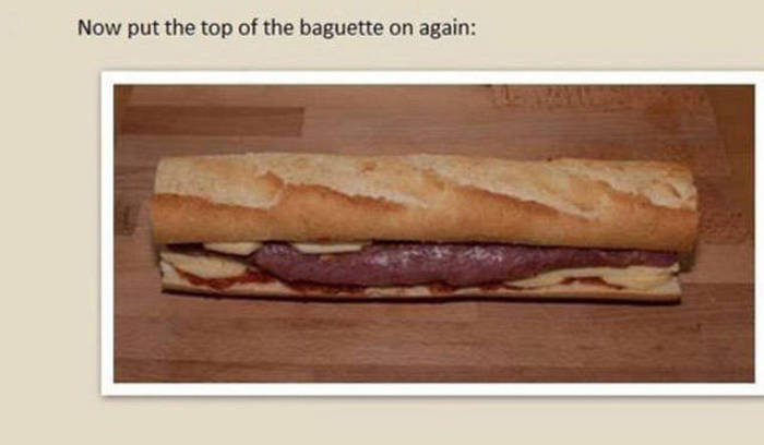How To Make A Homemade Pork Baguette Wrapped In Bacon (20 pics)