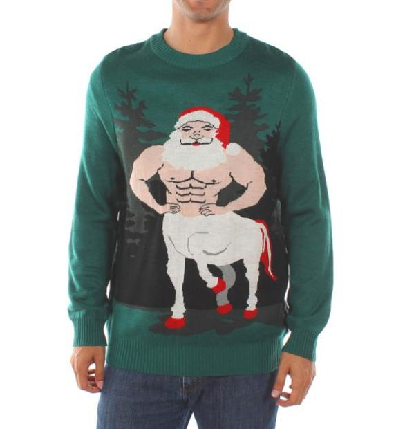 Ugly Holiday Sweaters That Are So Bad They're Good (19 pics)