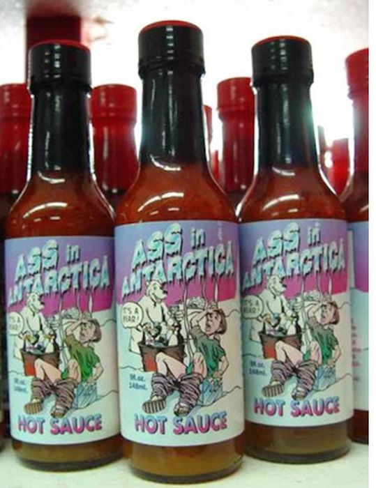 Extremely Hot Sauces With Ridiculous Names (18 pics)