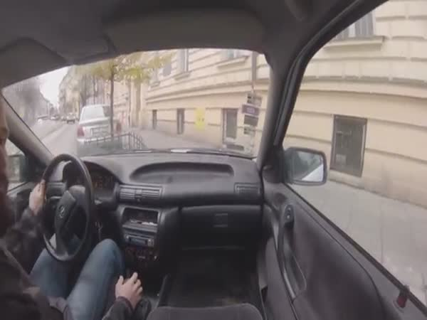 Two Fingers Parking Skills In  Poland
