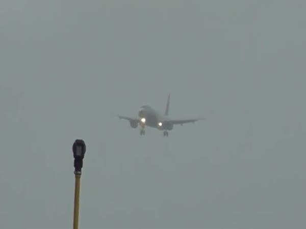 Plane Hovered During Landing
