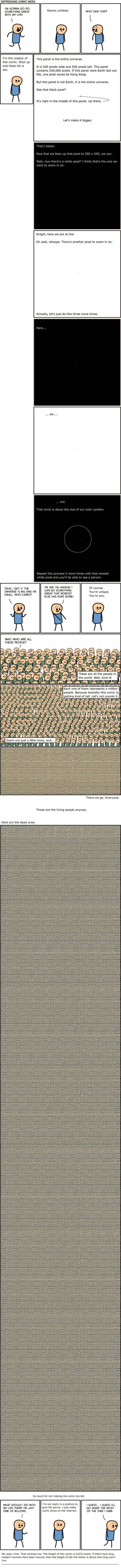 Depressing Comics That Will Make You Want To Curl Up And Cry (14 pics)