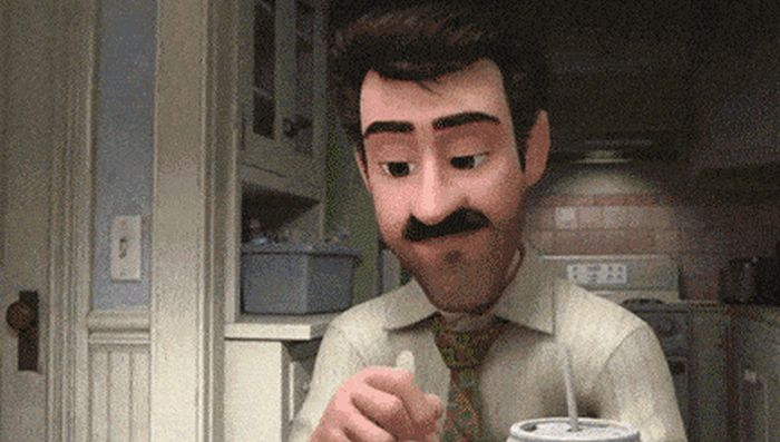 Find Out What's Really Going On Inside His Head (13 gifs)