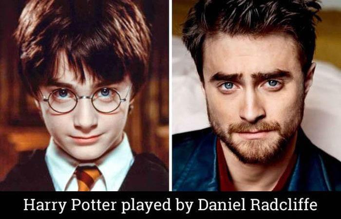 Personajes de Harry Potter 14 años despues...
