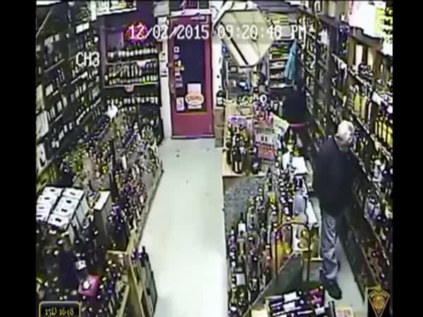 Armed Store Owner Defends Himself Against A Robber