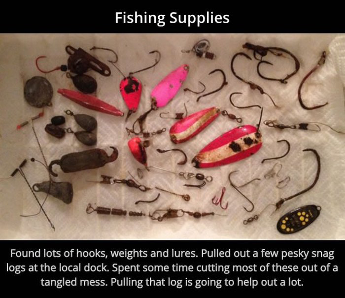 What You Catch When You Go Fishing With A Magnet (10 pics)