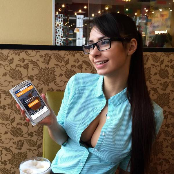 You Have To Appreciate A Girl That Knows How To Make Glasses Look Sexy 50 Pics-4212