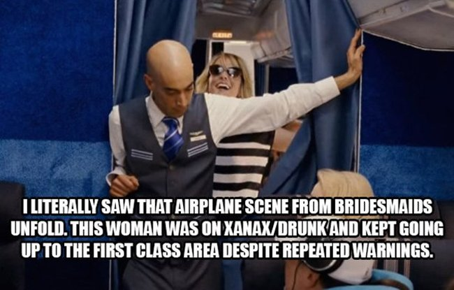 Flight Attendants Reveal The Craziest Things They've Ever Seen On A Plane (16 pics)