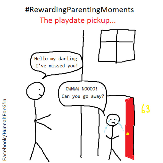 Mom Shares Her Parenting Problems With The World Through Honest Cartoons (39 pics)