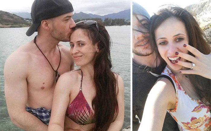 Loving Husband Helps His Wife Win Her Battle With Depression (2 pics)