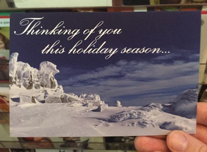 This Guy Left Honest Christmas Cards At A Local Gift Shop (12 pics)