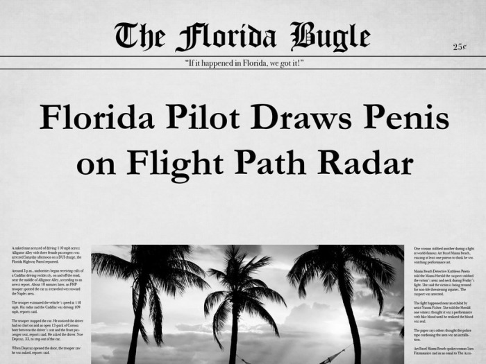 The 25 Most Bizarre News Headlines From Florida In 2015 (25 pics)
