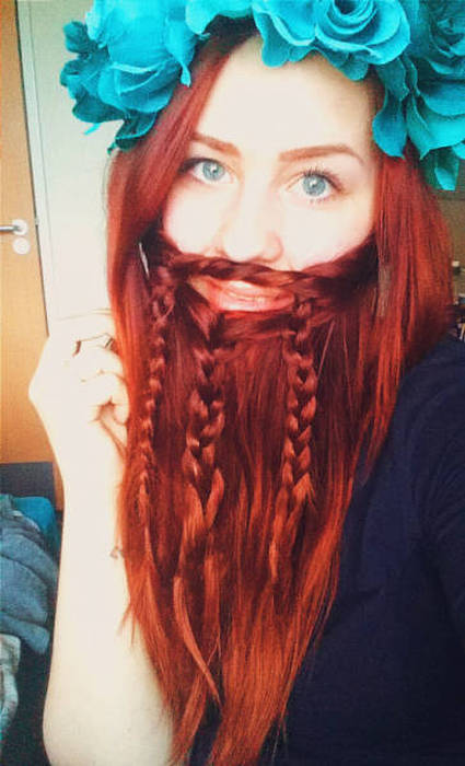 Ladybeards Might Actually Be The Worst Trend Ever (20 pics)