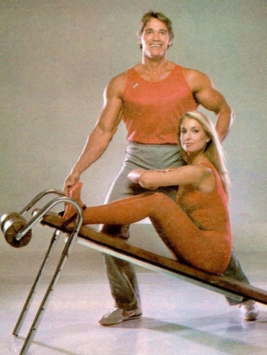These Retro Photos Of Arnold Schwarzenegger Are A Blast From The Past (6 pics)