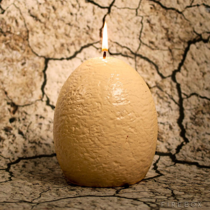Now You Can Buy A Dinosaur Egg Candle That Hatches As It Melts (3 pics)
