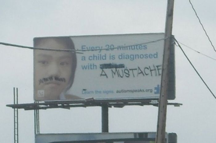 Billboards That Were Instantly Improved By Funny Graffiti (16 pics)