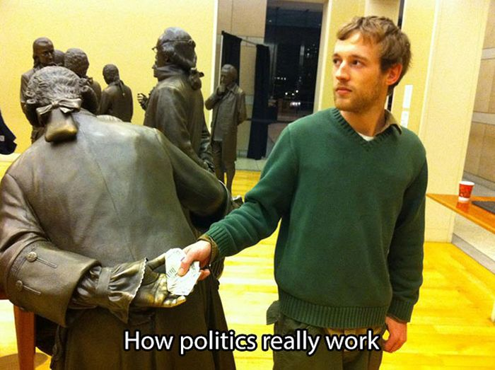 Brutally Honest Pictures That Tell The Truth About Politics (24 pics)