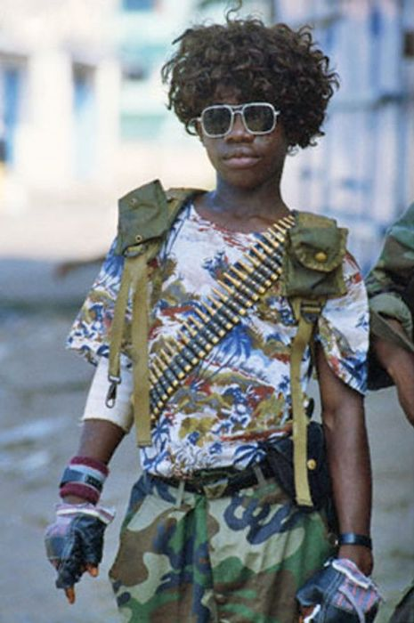 On The Ground With African Militias (16 pics)