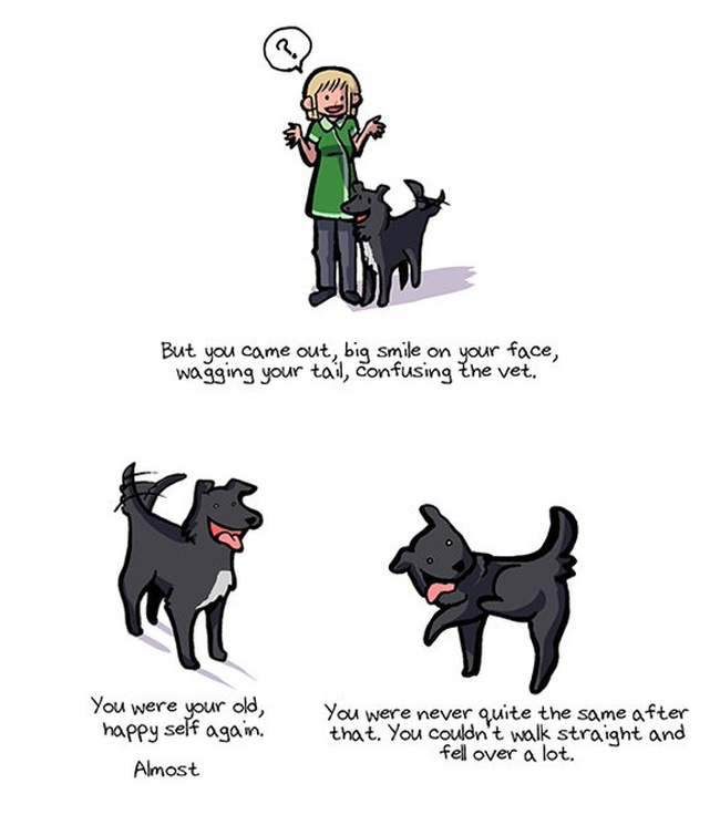 These Heartwarming Drawings Will Take You Through A Dog's Entire Life (16 pics)