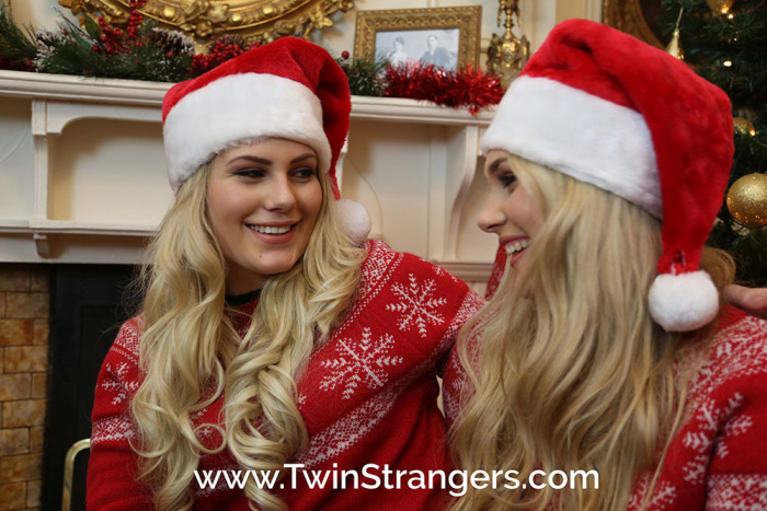 A Sexy Blonde Irish Student Found Her Doppelganger Online (4 pics)