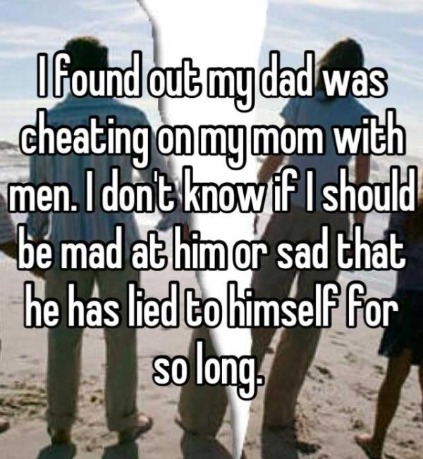 Heartbreaking Stories From Kids Who Caught Their Parents Cheating (17 pics)