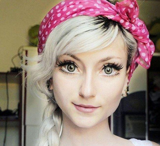 Adressa Damiani Is Brazil's Human Barbie Doll (9 pics)