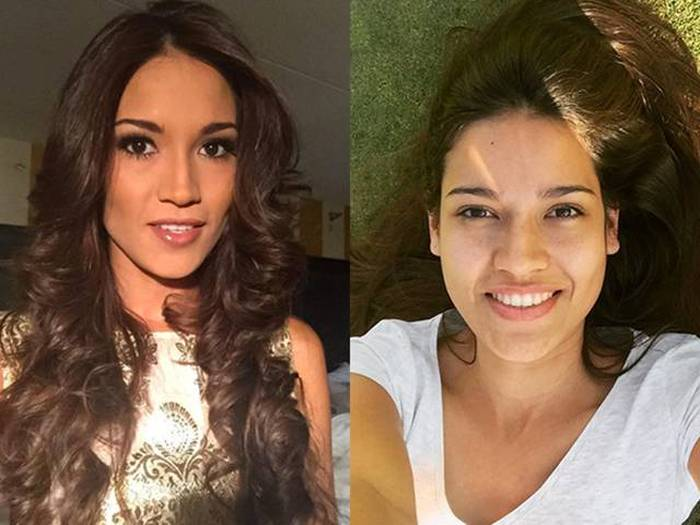 The Gorgeous Contestants Of Miss Universe With And Without Makeup (10 pics)
